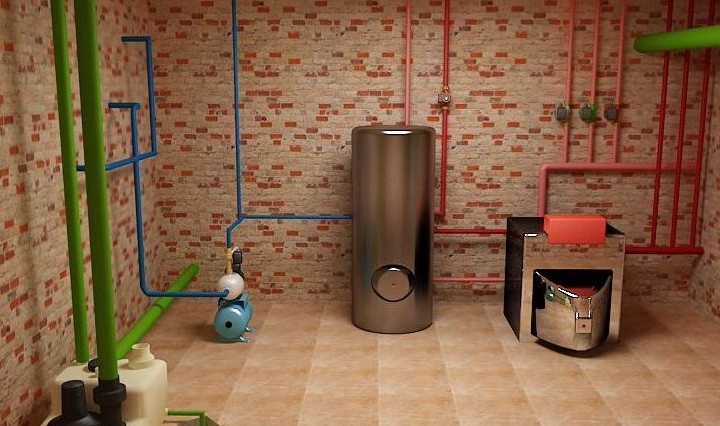 Как сделать отопление в подвале