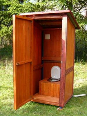 уличный туалет фото