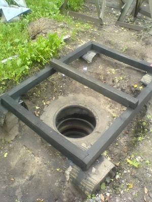 Как на даче сделать выгребную яму для туалета на даче своими руками фото 307