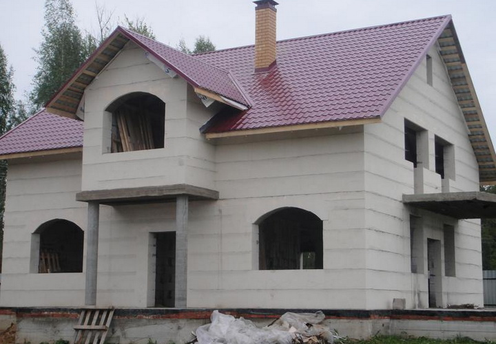 Строительство дома из керамзитобетона смета керамзитобетон размер цена