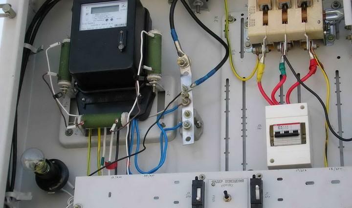 Ввод электричества в загородном доме Подключение света Ботово