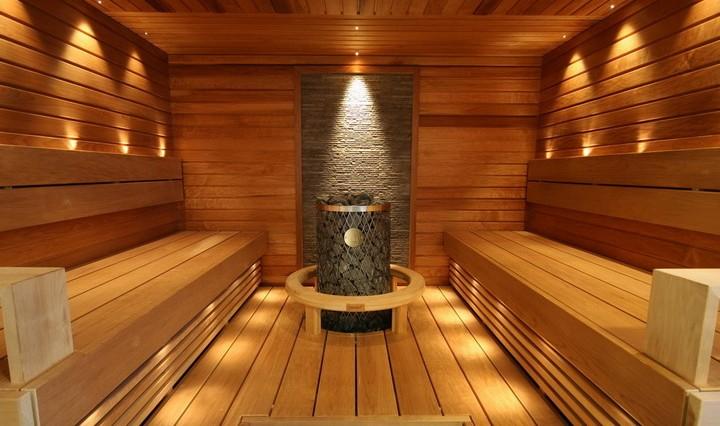 Проводка электрики в бане