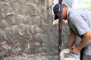 Штукатурка фасадов цементным раствором видео заказать бетон номер телефона