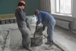 Приготовление строительных растворов состав поромер бетона