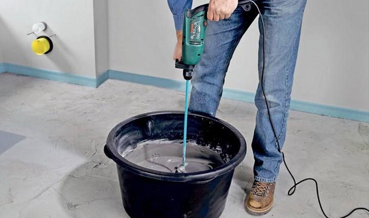 Приготовление цементного раствора строительного что такое гравитационный смеситель для бетонных смесей