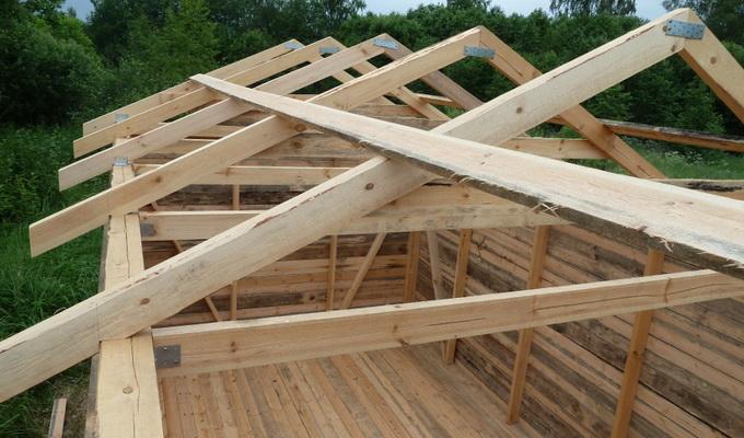 Строительство деревянной крыши своими руками 6