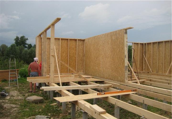 Строим каркасный дом своими руками поэтапный показ 393