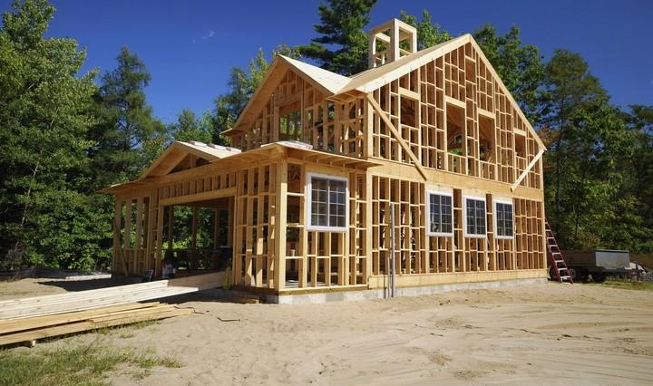 каркас деревянного каркасного дома технология