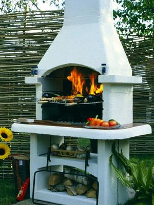 Конструкции стационарных барбекю мангалы барбекю в беседке