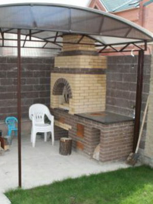 Печи и барбекю под навесом камин для барбекю