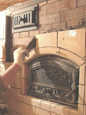 Чем отделать печь из кирпича