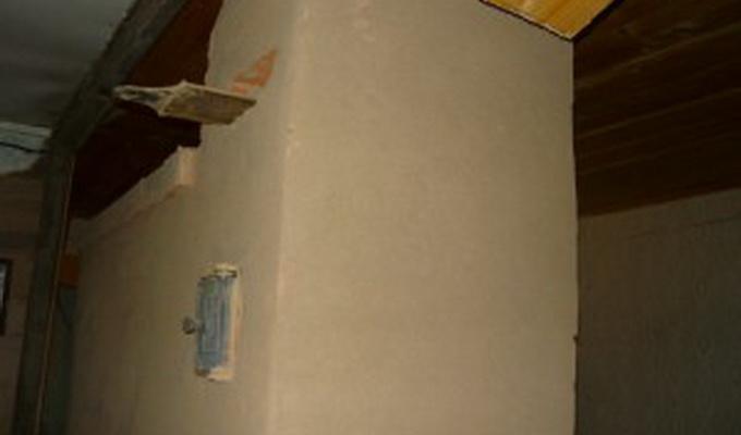 Чем отштукатурить печь из кирпича кроме глины