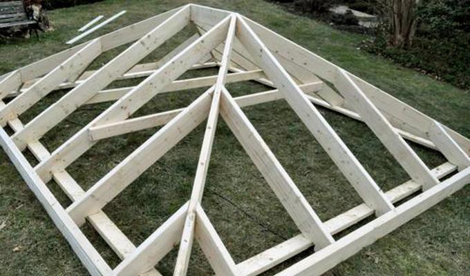 Крыши для беседок фото