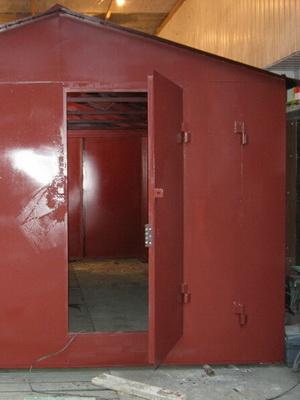 Покраска металлического гаража снаружи своими руками купить гараж северное кучино