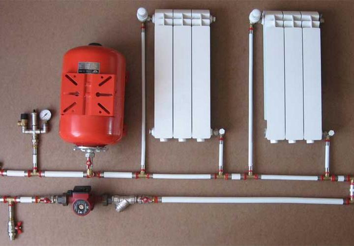Система водяного отопления своими руками