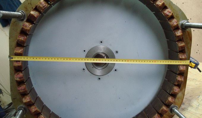 Самодельный генератор на магнитах схема