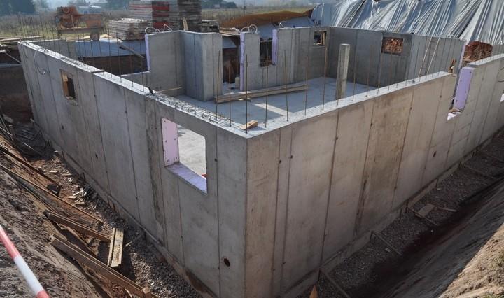 Дом из бетона своими руками цена 1008