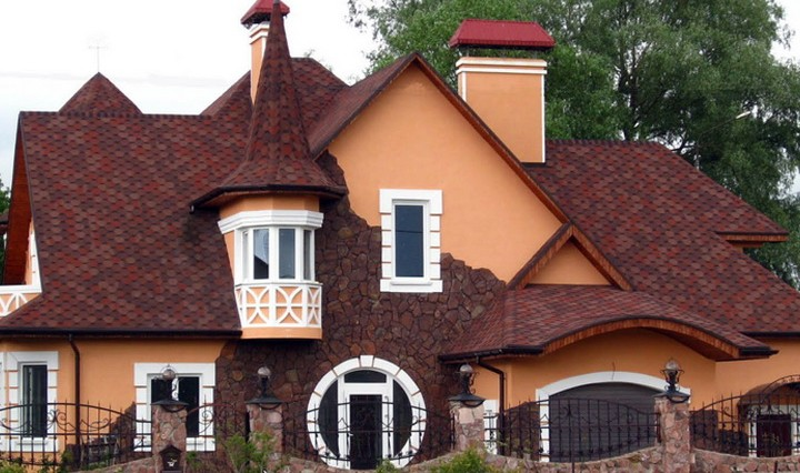 крыша фото домов