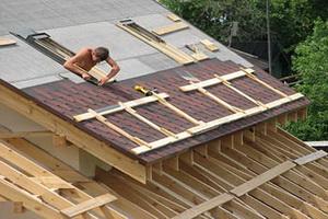 Технология устройства кровли крыши и правила обустройства конструкции обрешетки под кровлю крыши