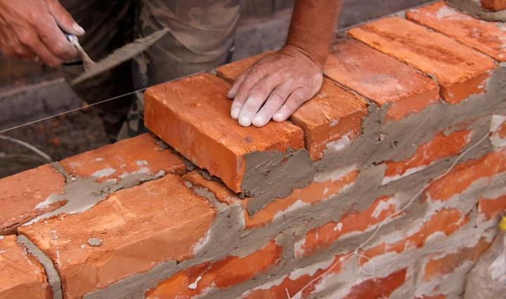 Кладка кирпича цементным раствором бетонные смеси самовыравнивающийся