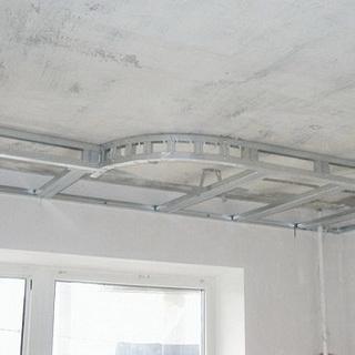 Гипсокартонная конструкция на потолке своими руками