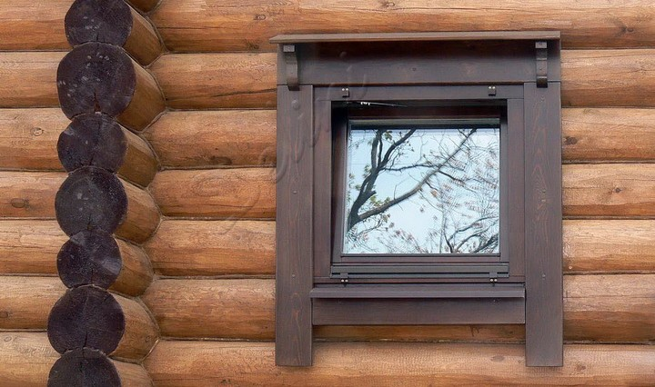 Установка окна в бане своими руками