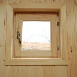 выделить чем покрыть деревянные окна бани это