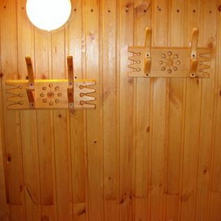 Полочки в баню своими руками из дерева