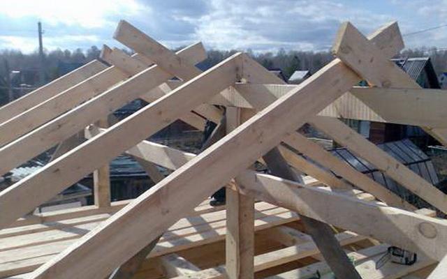 Построить крышу гаража своими руками фото 462