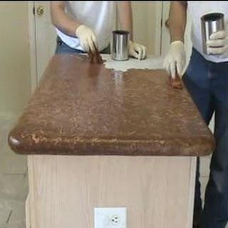 Столешница из бетона своими руками технология