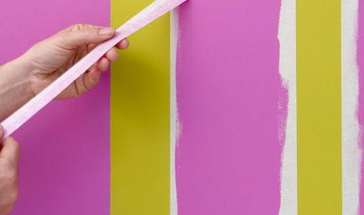 Окраска стены своими руками 30
