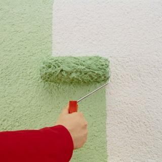 Окраска стены своими руками 4