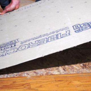 Устройство плитки напольной