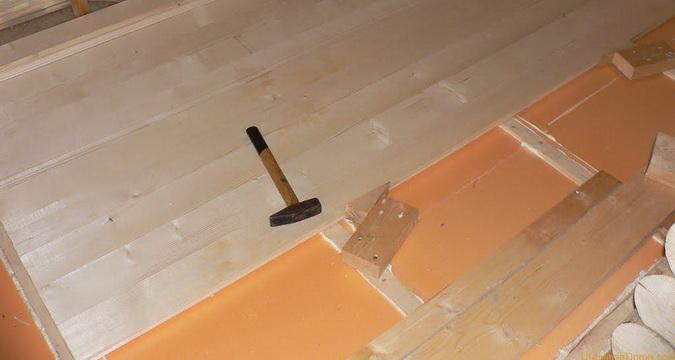 полы в доме деревянные или керамзитобетон