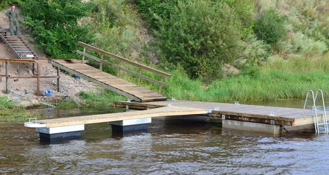 Как сделать мостки на реке фото 744
