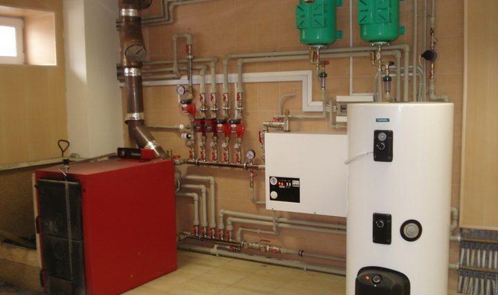 отопление дома с помощью теплоаккумулятора