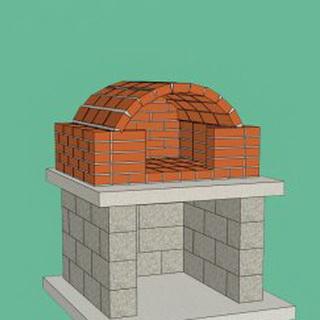 Печки для дачи дровяные из кирпича 168