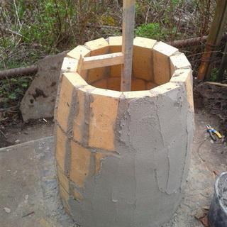 Как построить тандыр своими руками видео фото 542