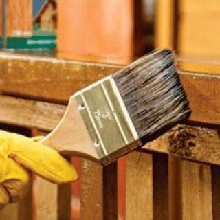 menamatkan rumah dari kayu di luar - 314167