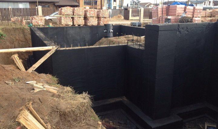 Гидроизоляция стен гидростеклоизолом цена шпатлевки масляно-клеевой 5 кг нова