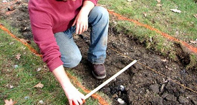 Как снять верхний слой почвы своими руками 80
