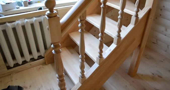 Размеры балясины для лестниц из дерева - По ступенькам