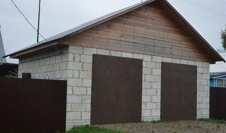 Izračunajte stroške gradnje garaže iz pene