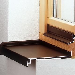 Отливы алюминиевые балконные в клину. цена товара договорная.