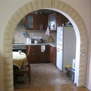 Украсить арку на кухне своими руками